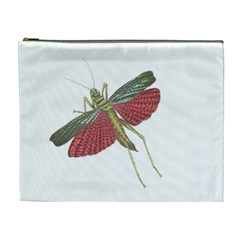 Grasshopper Insect Animal Isolated Cosmetic Bag (XL)
