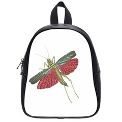 Grasshopper Insect Animal Isolated School Bags (small)