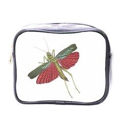 Grasshopper Insect Animal Isolated Mini Toiletries Bags