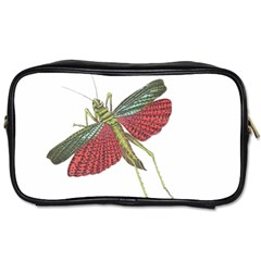 Grasshopper Insect Animal Isolated Toiletries Bags 2-Side