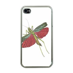 Grasshopper Insect Animal Isolated Apple iPhone 4 Case (Clear)