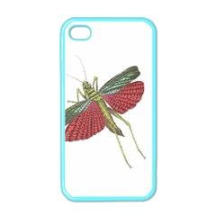 Grasshopper Insect Animal Isolated Apple Iphone 4 Case (color)