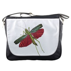 Grasshopper Insect Animal Isolated Messenger Bags