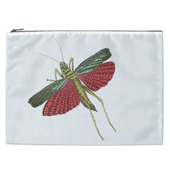 Grasshopper Insect Animal Isolated Cosmetic Bag (XXL)