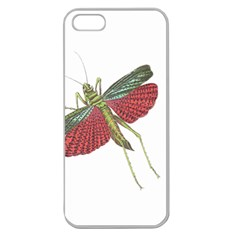 Grasshopper Insect Animal Isolated Apple Seamless iPhone 5 Case (Clear)