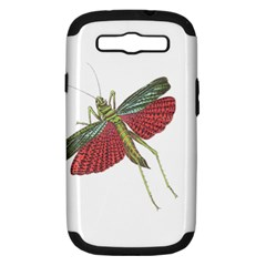 Grasshopper Insect Animal Isolated Samsung Galaxy S III Hardshell Case (PC+Silicone)