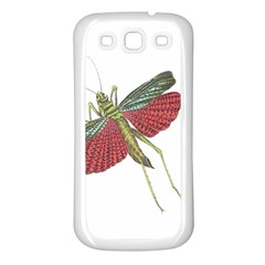 Grasshopper Insect Animal Isolated Samsung Galaxy S3 Back Case (White)