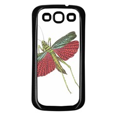 Grasshopper Insect Animal Isolated Samsung Galaxy S3 Back Case (Black)