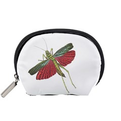 Grasshopper Insect Animal Isolated Accessory Pouches (Small)