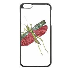 Grasshopper Insect Animal Isolated Apple iPhone 6 Plus/6S Plus Black Enamel Case