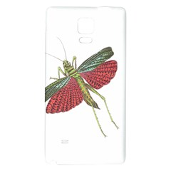 Grasshopper Insect Animal Isolated Galaxy Note 4 Back Case