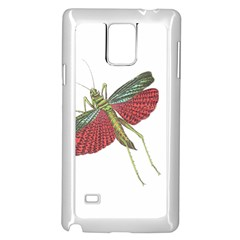 Grasshopper Insect Animal Isolated Samsung Galaxy Note 4 Case (white)