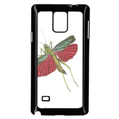 Grasshopper Insect Animal Isolated Samsung Galaxy Note 4 Case (Black)