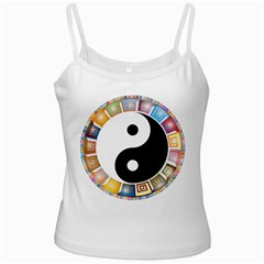 Yin Yang Eastern Asian Philosophy Ladies Camisoles