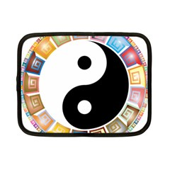 Yin Yang Eastern Asian Philosophy Netbook Case (Small)