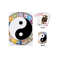 Yin Yang Eastern Asian Philosophy Playing Cards (Mini)