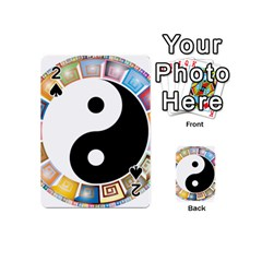 Yin Yang Eastern Asian Philosophy Playing Cards 54 (Mini)