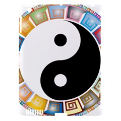 Yin Yang Eastern Asian Philosophy Apple iPad 3/4 Hardshell Case (Compatible with Smart Cover)