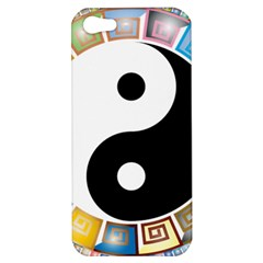 Yin Yang Eastern Asian Philosophy Apple iPhone 5 Hardshell Case