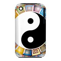 Yin Yang Eastern Asian Philosophy iPhone 3S/3GS
