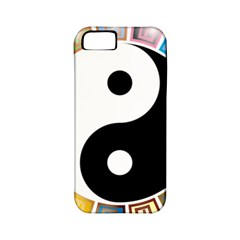 Yin Yang Eastern Asian Philosophy Apple iPhone 5 Classic Hardshell Case (PC+Silicone)