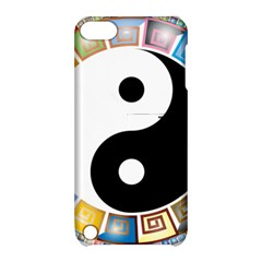 Yin Yang Eastern Asian Philosophy Apple Ipod Touch 5 Hardshell Case With Stand