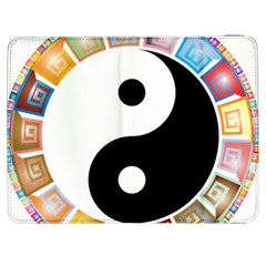 Yin Yang Eastern Asian Philosophy Samsung Galaxy Tab 7  P1000 Flip Case