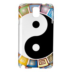 Yin Yang Eastern Asian Philosophy Samsung Galaxy Note 3 N9005 Hardshell Case