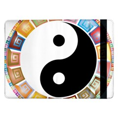 Yin Yang Eastern Asian Philosophy Samsung Galaxy Tab Pro 12.2  Flip Case