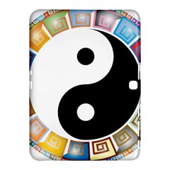 Yin Yang Eastern Asian Philosophy Samsung Galaxy Tab 4 (10.1 ) Hardshell Case