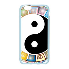 Yin Yang Eastern Asian Philosophy Apple Seamless iPhone 6/6S Case (Color)