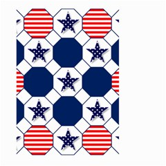 Patriotic Symbolic Red White Blue Large Garden Flag (Two Sides)