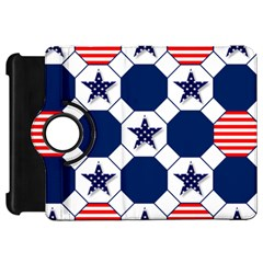 Patriotic Symbolic Red White Blue Kindle Fire HD 7