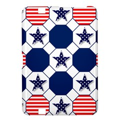 Patriotic Symbolic Red White Blue Kindle Fire Hd 8 9