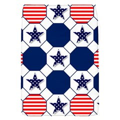 Patriotic Symbolic Red White Blue Flap Covers (S)