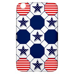 Patriotic Symbolic Red White Blue Samsung Galaxy Tab 3 (8 ) T3100 Hardshell Case