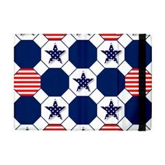 Patriotic Symbolic Red White Blue iPad Mini 2 Flip Cases