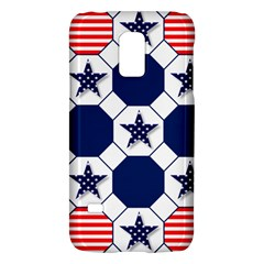 Patriotic Symbolic Red White Blue Galaxy S5 Mini