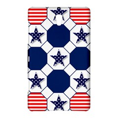 Patriotic Symbolic Red White Blue Samsung Galaxy Tab S (8.4 ) Hardshell Case