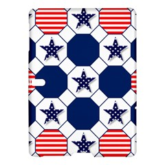 Patriotic Symbolic Red White Blue Samsung Galaxy Tab S (10 5 ) Hardshell Case