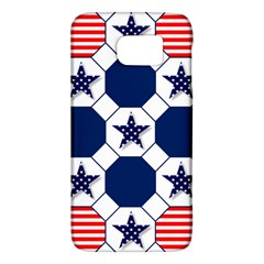 Patriotic Symbolic Red White Blue Galaxy S6