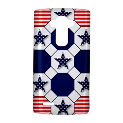 Patriotic Symbolic Red White Blue LG G4 Hardshell Case