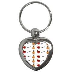 Ppap Pen Pineapple Apple Pen Key Chains (Heart)