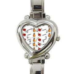 Ppap Pen Pineapple Apple Pen Heart Italian Charm Watch