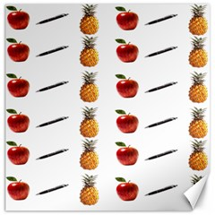 Ppap Pen Pineapple Apple Pen Canvas 12  x 12