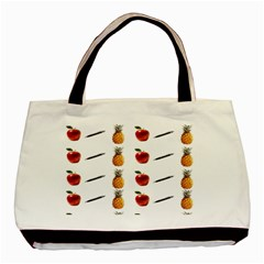 Ppap Pen Pineapple Apple Pen Basic Tote Bag (Two Sides)