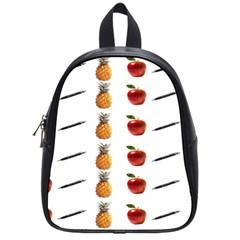 Ppap Pen Pineapple Apple Pen School Bags (Small)