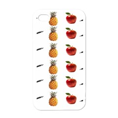 Ppap Pen Pineapple Apple Pen Apple iPhone 4 Case (White)