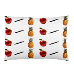 Ppap Pen Pineapple Apple Pen Pillow Case (Two Sides)