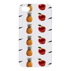 Ppap Pen Pineapple Apple Pen Apple iPhone 4/4S Premium Hardshell Case